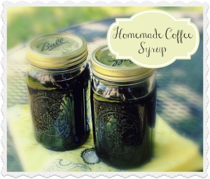 homemadecoffeesyrup