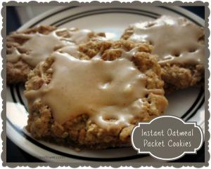 instantoatmealpacketcookies