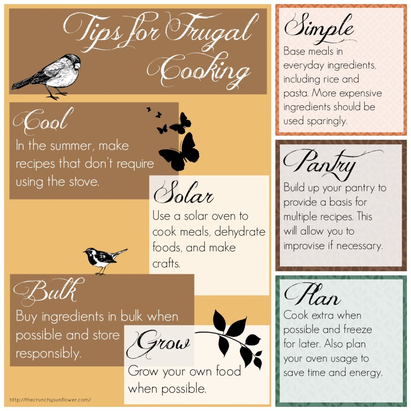 Tips for Frugal Cooking