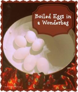 boiled eggs wonderbag