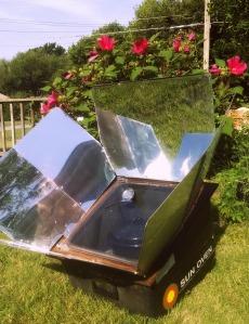 solar oven Saturday
