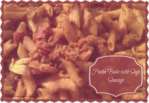 Pasta Bake with Sage Sausage