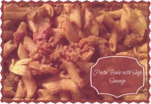 Pasta Bake with Sage Sausage