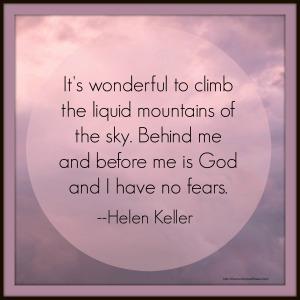 Helen Keller Sky Quote with link